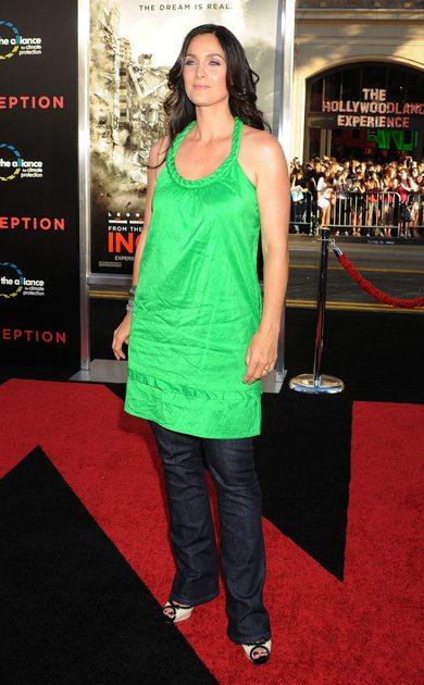 Carrie-Anne Moss, fot. Agencja FORUM