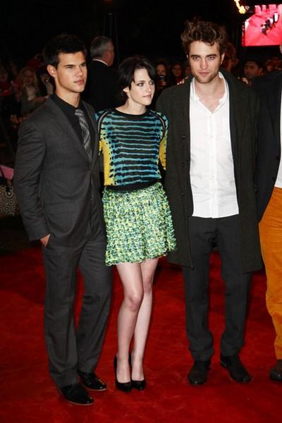 Taylor Lautner, Kristen Stewart, Robert Pattinson, fot. PAF Forum/picture-alliance /Jazz Archiv