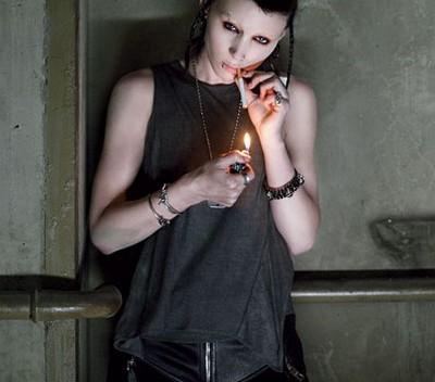 Rooney Mara wDziewczynie ztatuażem