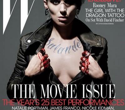 Rooney Mara na okładce magazynu W