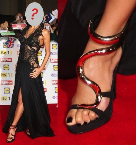 Tagi: Czerwony dywan,Eleganckie sandały,Nicole Scherzinger