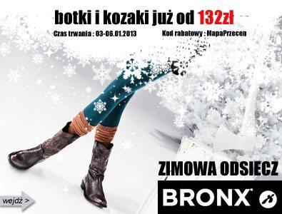 Wielka wyprzedaż obuwia zimowego: Bronx