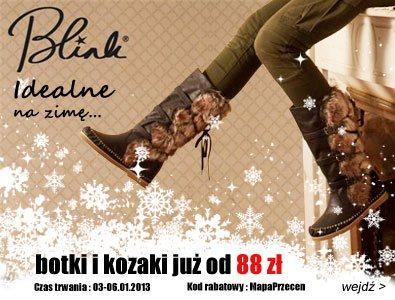 Wielka wyprzedaż obuwia zimowego: Blink